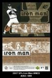 2007 SPx Iron Man #IM23