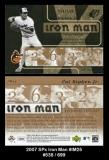 2007 SPx Iron Man #IM25