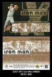 2007 SPx Iron Man #IM26