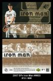2007 SPx Iron Man #IM33