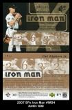 2007 SPx Iron Man #IM34
