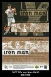 2007 SPx Iron Man #IM36