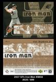 2007 SPx Iron Man #IM38