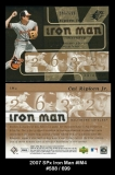2007 SPx Iron Man #IM4