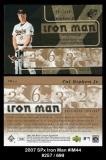 2007 SPx Iron Man #IM44