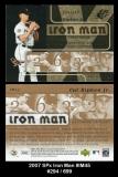 2007 SPx Iron Man #IM45