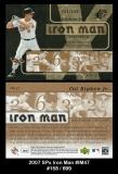 2007 SPx Iron Man #IM47