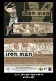 2007 SPx Iron Man #IM49