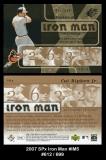 2007 SPx Iron Man #IM5