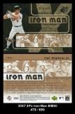 2007 SPx Iron Man #IM50