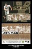 2007 SPx Iron Man #IM53