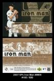 2007 SPx Iron Man #IM55