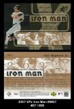 2007 SPx Iron Man #IM57