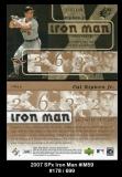 2007 SPx Iron Man #IM59