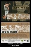 2007 SPx Iron Man #IM6