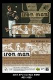 2007 SPx Iron Man #IM61