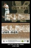 2007 SPx Iron Man #IM65