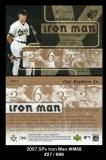2007 SPx Iron Man #IM68