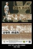 2007 SPx Iron Man #IM69
