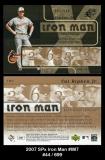 2007 SPx Iron Man #IM7