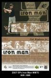2007 SPx Iron Man #IM70