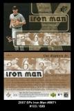 2007 SPx Iron Man #IM71