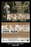 2007 SPx Iron Man #IM73
