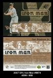 2007 SPx Iron Man #IM74