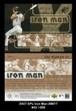 2007 SPx Iron Man #IM77