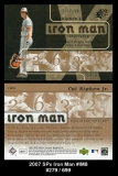 2007 SPx Iron Man #IM8
