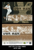 2007 SPx Iron Man #IM83