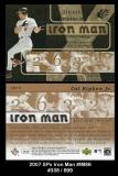 2007 SPx Iron Man #IM86