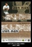 2007 SPx Iron Man #IM94