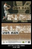 2007 SPx Iron Man #IM96