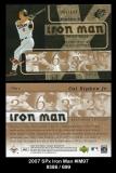 2007 SPx Iron Man #IM97