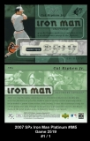 2007 SPx Iron Man Platinum #IM5