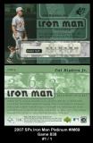 2007 SPx Iron Man Platinum #IM69 Game 838