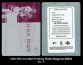 2007 SPx Iron Man Printing Plates Magenta #IM34
