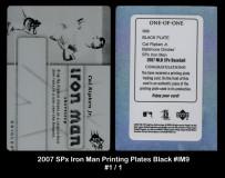 2007-SPx-Iron-Man-Printing-Plates-Black-IM9