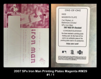 2007-SPx-Iron-Man-Printing-Plates-Magenta-IM29
