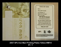 2007-SPx-Iron-Man-Printing-Plates-Yellow-IM10