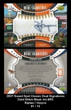 2007 Sweet Spot Classic Dual Signatures Gold Stitch Black Ink #RG