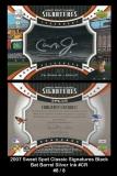 2007 Sweet Spot Classic Signatures Black Bat Barrel Silver Ink #CR