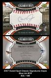 2007 Sweet Spot Classic Signatures Sepia Blue Ink #CR