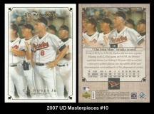 2007 UD Masterpieces #10