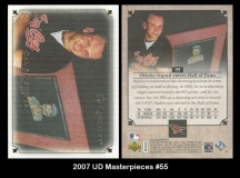 2007 UD Masterpieces #55
