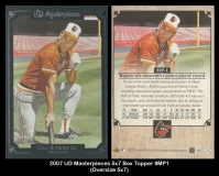 2007 UD Masterpieces 5x7 Box Topper #MP1