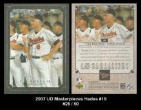 2007 UD Masterpieces Hades #10