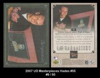 2007 UD Masterpieces Hades #55