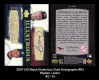 2007-UD-Black-Illustrious-Dual-Autographs-RJ